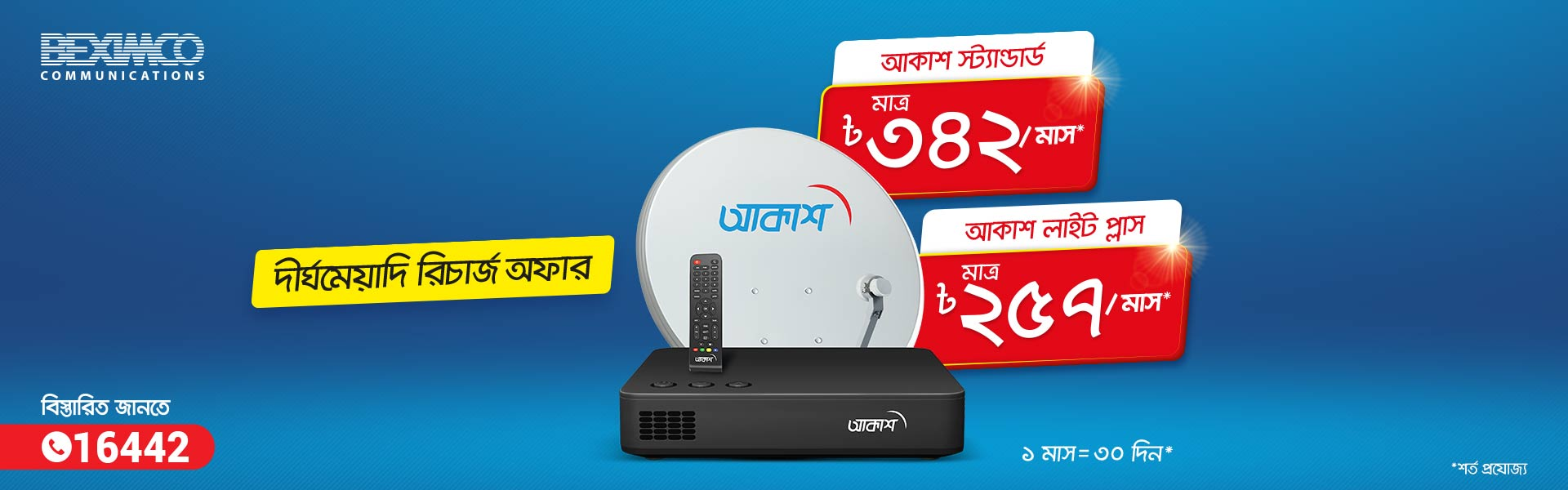 Long Term Recharge Offer